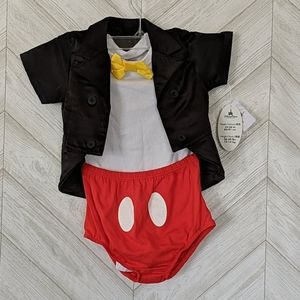 Disney Mickey Mouse Costume NWT